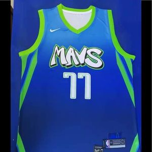 Luka Doncic #77 Dallas Mavericks City Jersey